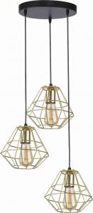 LAMPA WISZĄCA DIAMOND GOLD 4451 TK LIGHTING