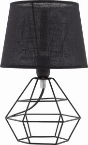 Lampka nocna/biurkowa/gabinet TK Lighting DIAMOND BLACK 843
